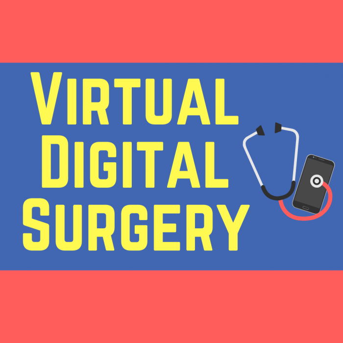 Virtual digital surgery logo