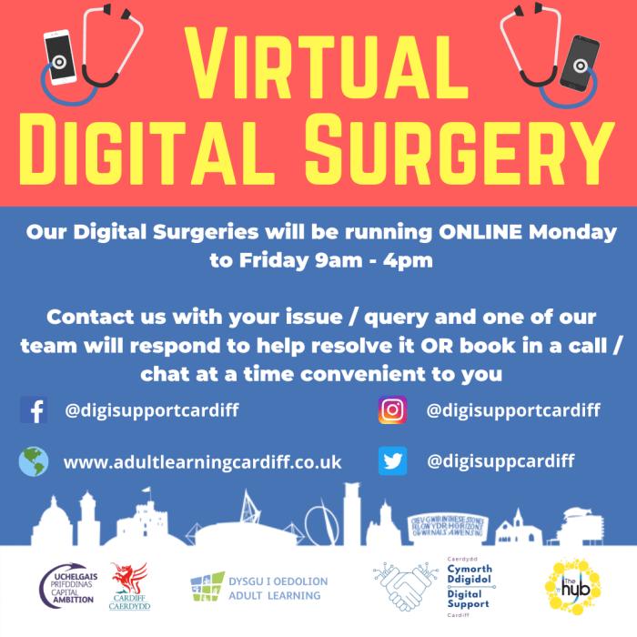 image of a virtual digital surgery poster