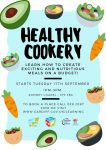 Healthy Cookery poster: See page for text information