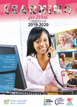 Cover image of the learning for work brochure