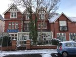 Photo of Llanover hall in the snow