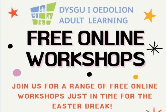 free online workshops header