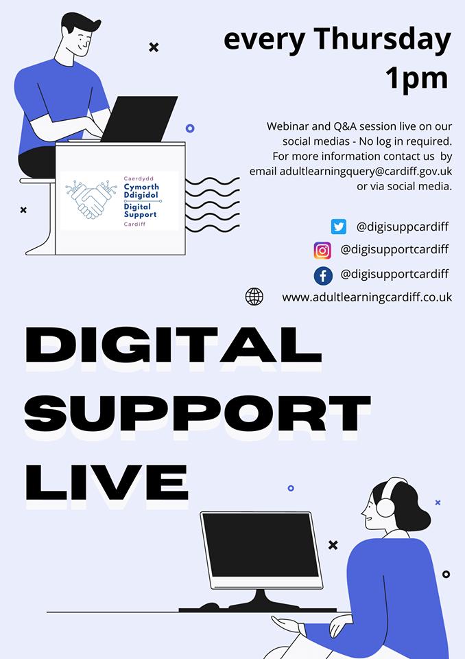 digital support live poster